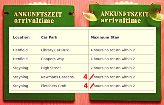 Henfield Steyning car parking
