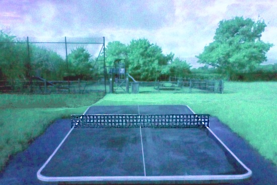 Poynings ping pong table