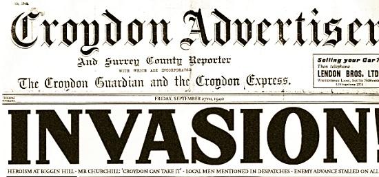 Croydon Advertiser 1940