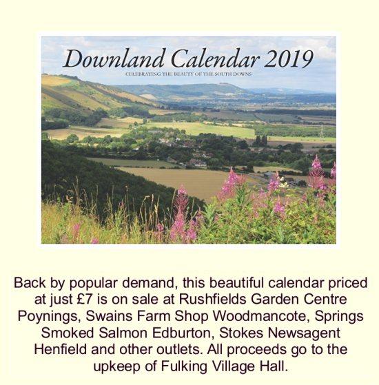Downland Calendar 2019