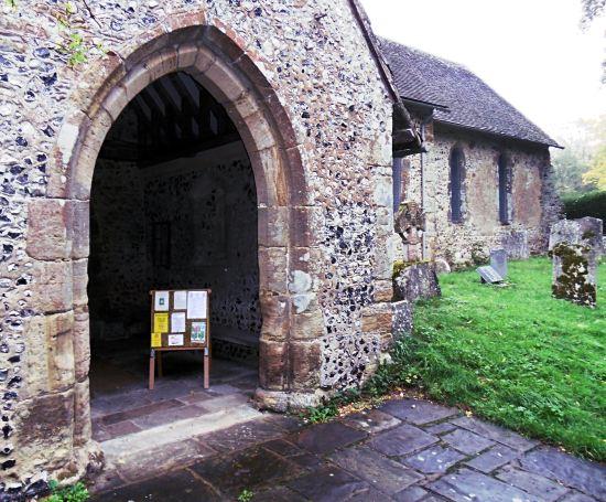 St. Andrew's porch