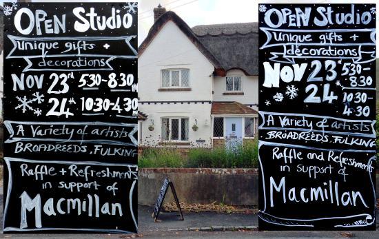 Open Studio at Broadreeds