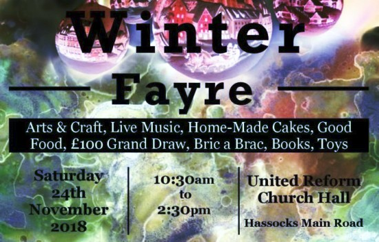 Pyecombe Church Pyecombe Winter Fayre 2018