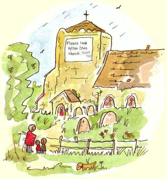 GJ sketch of Church