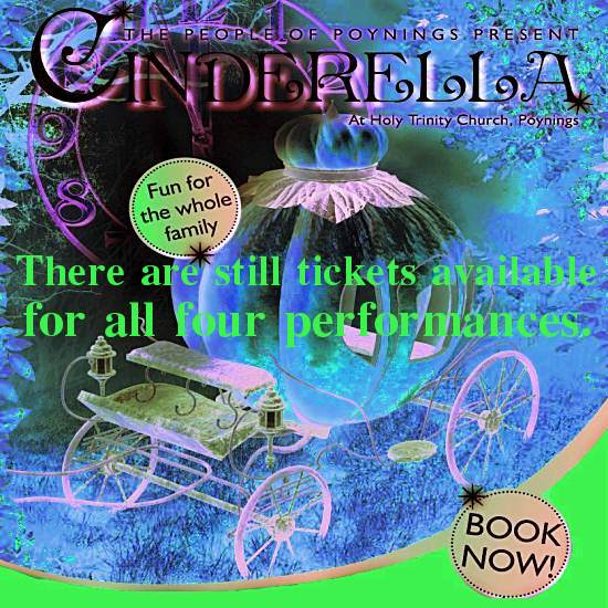 Cinderella Poynings 2019 reminder