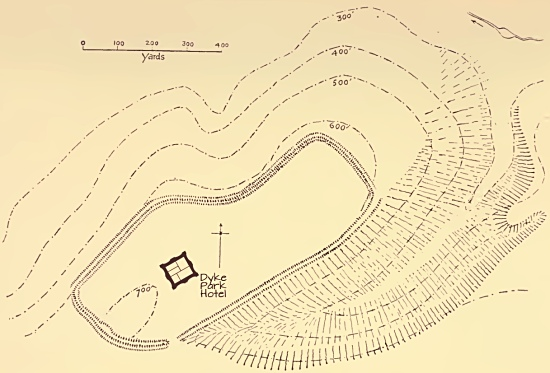 Devil's Dyke map