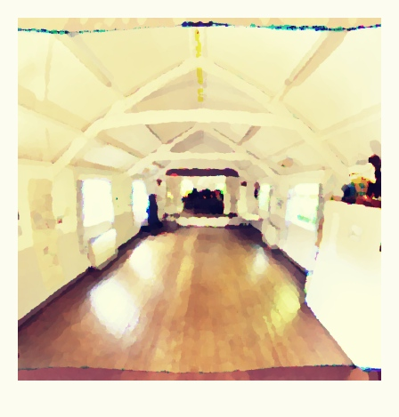 Fulking Village Hall polaroid