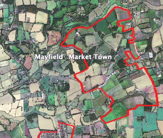 Mayfield Market Town map