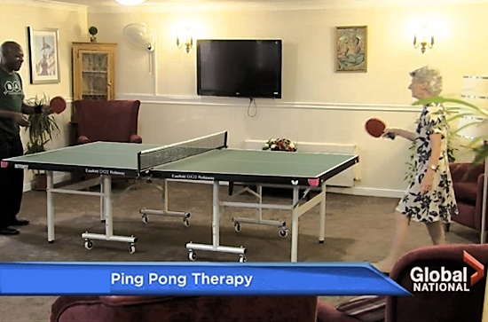 Ping Pong Therapy