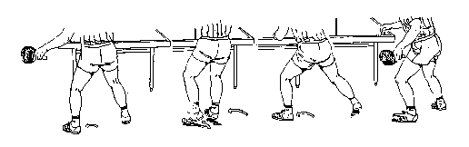 ping pong footwork