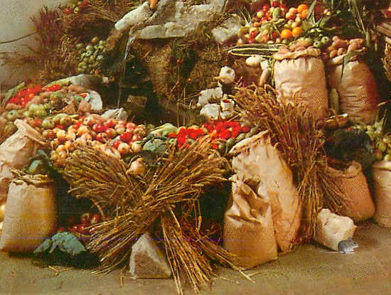 Harvest Festival produce