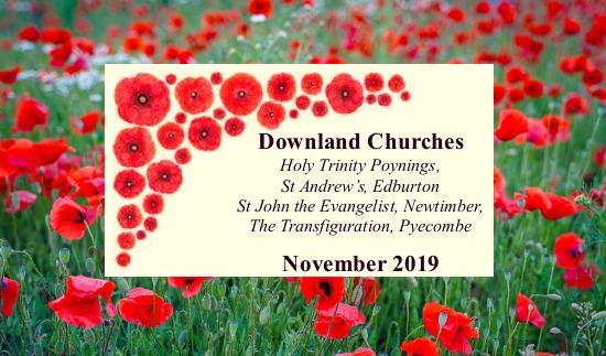 Downland Benefice Flier November 2019