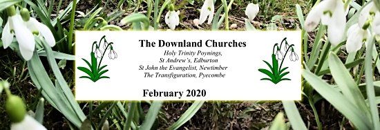 Downland Benefice Flier February 2020