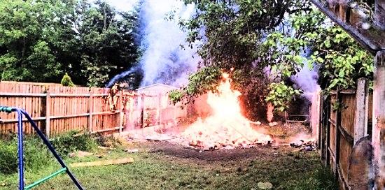 No bonfires!